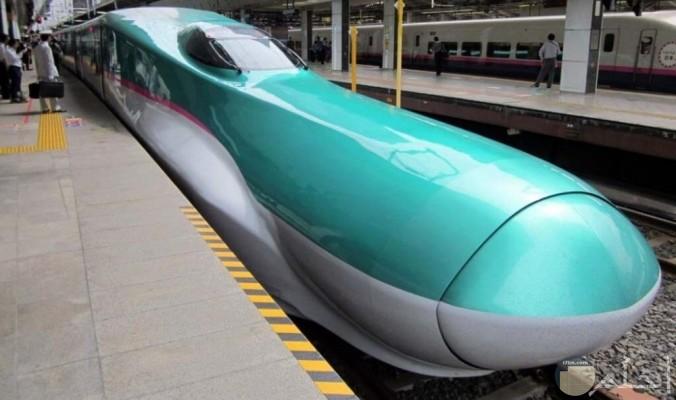أحدث قطار ياباني