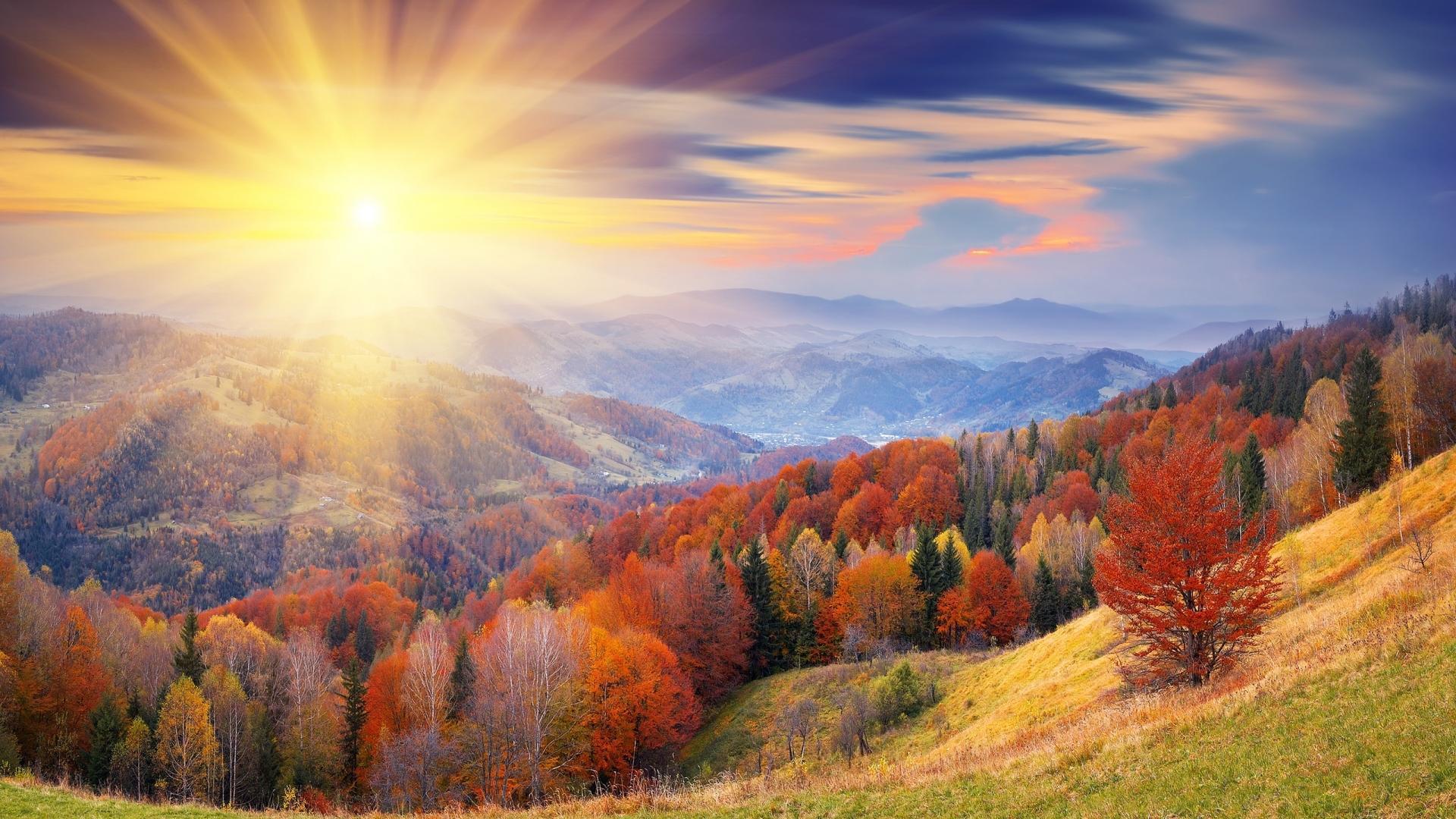 صورة مميزة لشروق الشمس