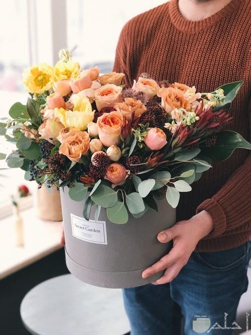 باقة مميزة من الزهور الجميلة والمتنوعة