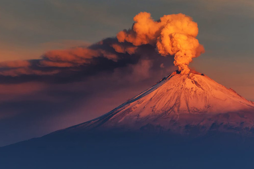 بركان نشط