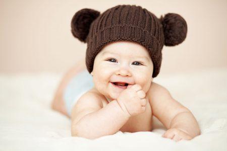 صورة بيبي كيوت ضحكته جميلة جداً