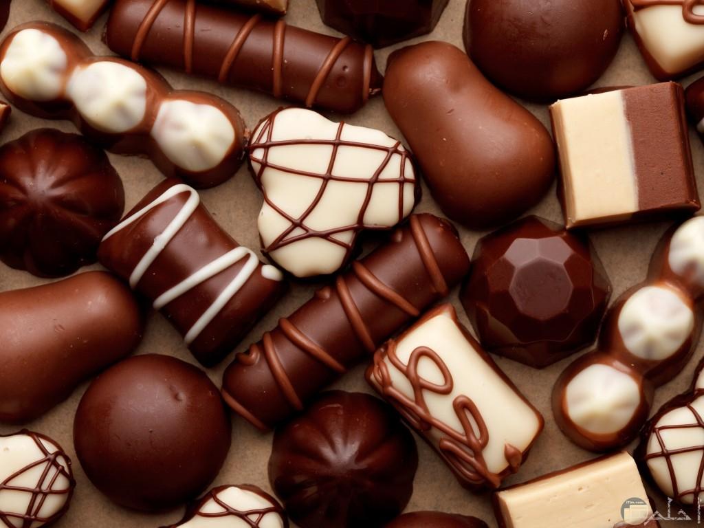 حلويات العيد من الشيكولاتة