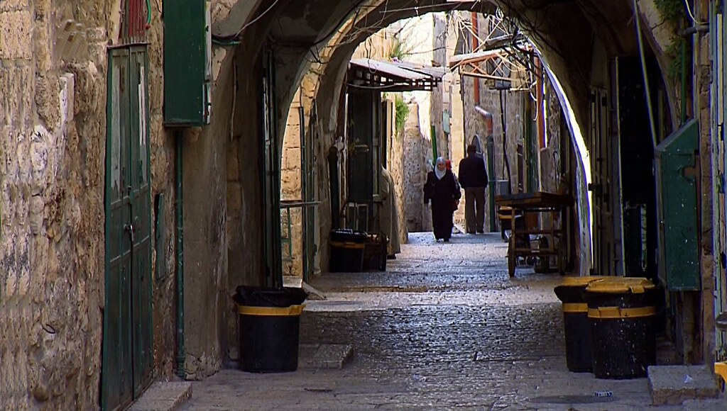 شوارع القدس العتيقة