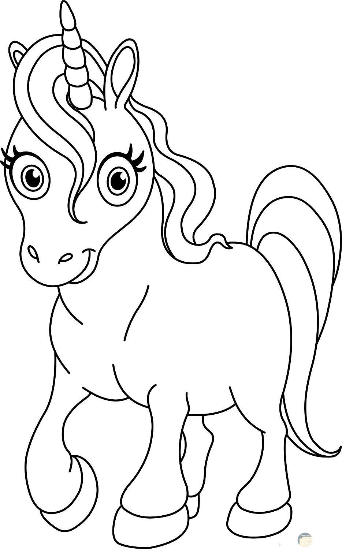 صورة تلوين حصان