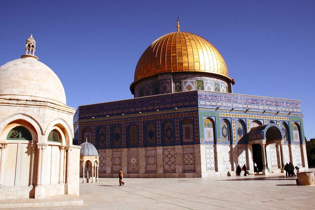 صورة جميلة للمسجد الأقصى