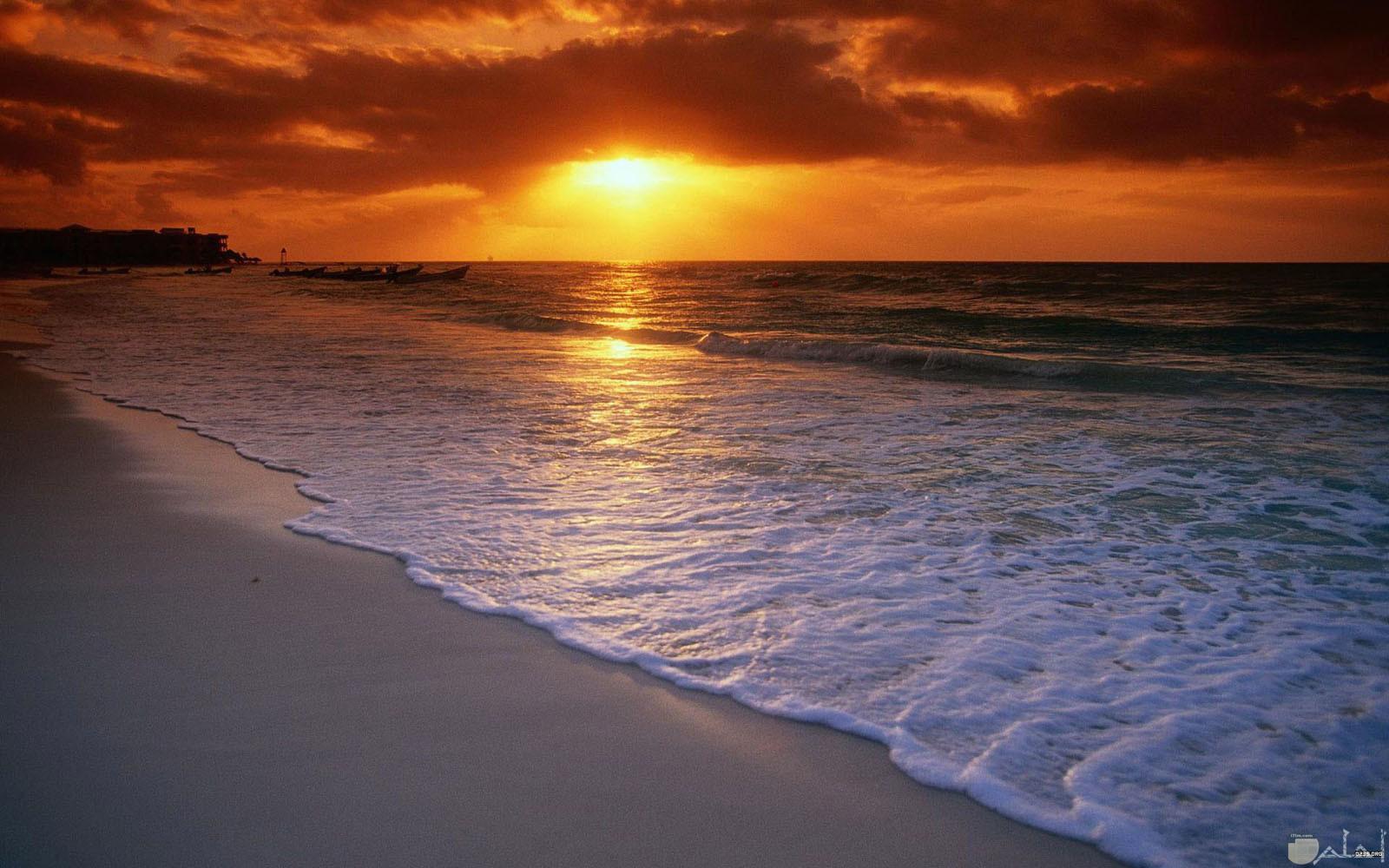 صورة رائعة للبحر