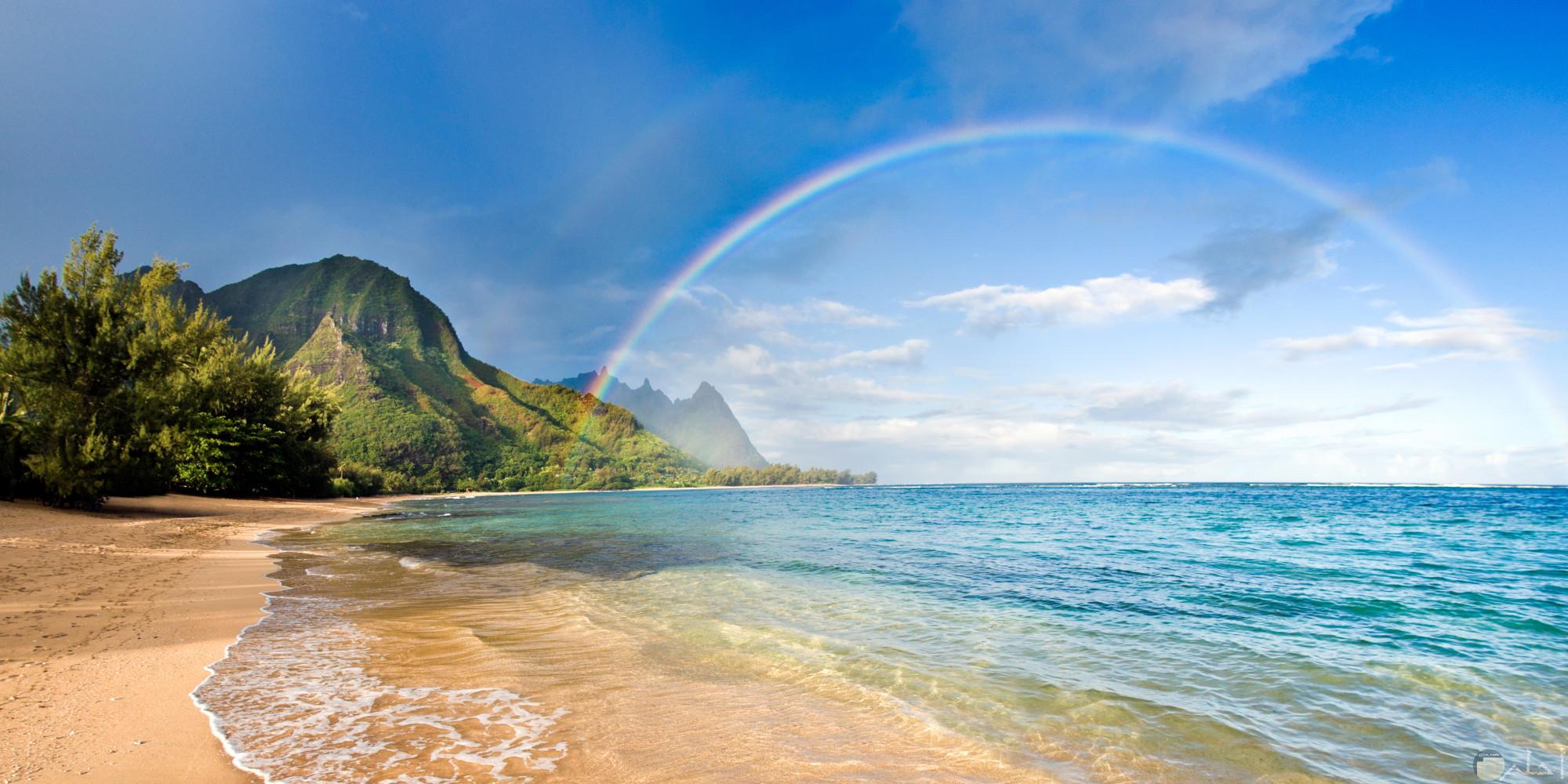 صورة رائعة للبحر والطبيعة