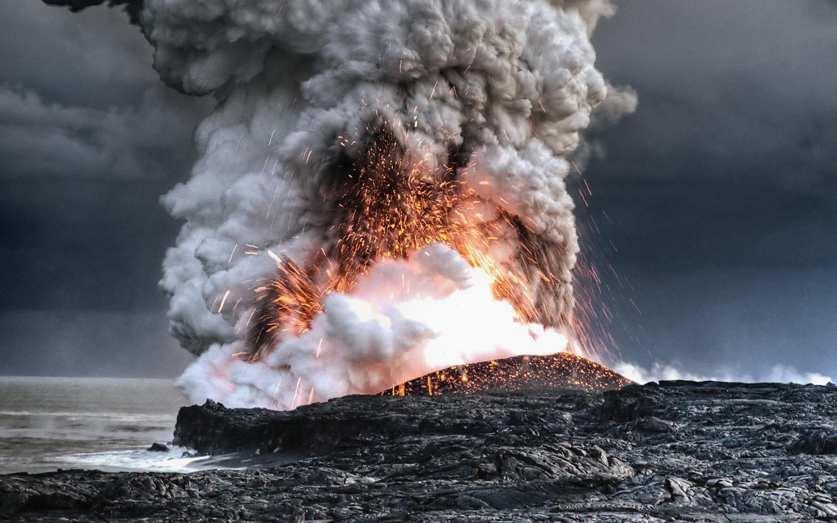 صورة لأكبر بركان في العالم