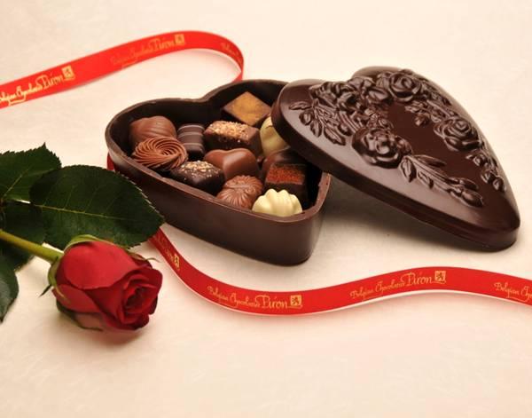 صورة هدية من الشيكولاتة