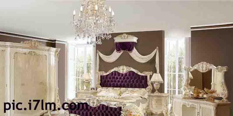 صورة لديكور غرفة نوم كلاسيك للعرائس