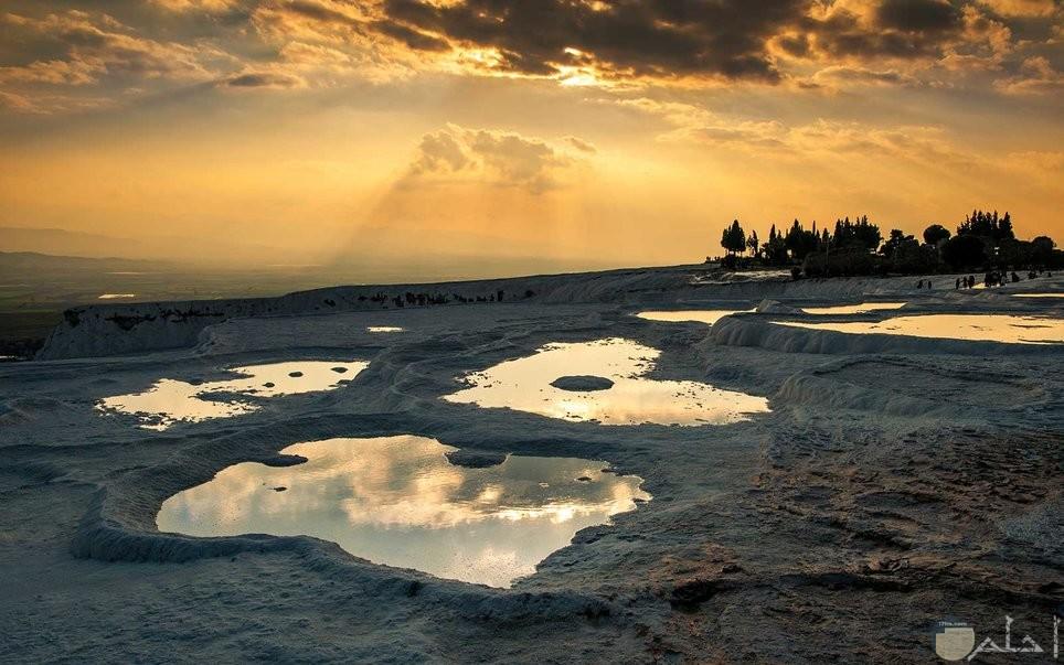 اجمل صور الطبيعة الساحرة وقت الغروب