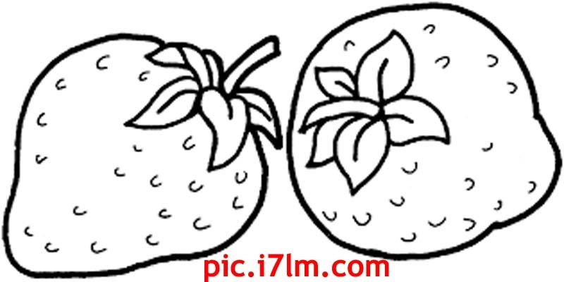 صور للتلوين فواكه وخضراوات