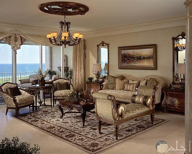 غرفة جلوس جميلة جدا