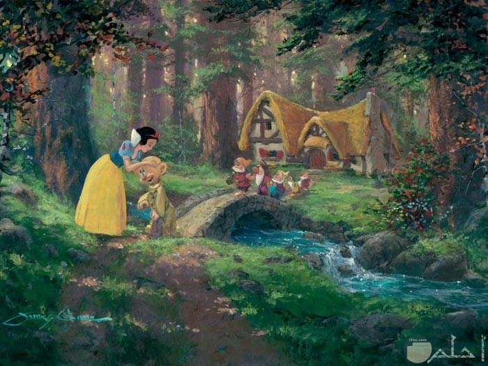 لوحة طبيعية لغرفة الأطفال