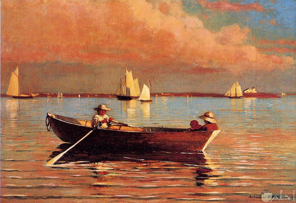 من أشهر لوحات البحر