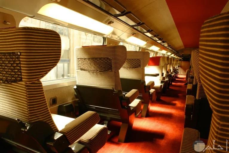من الداخل TGVقطار
