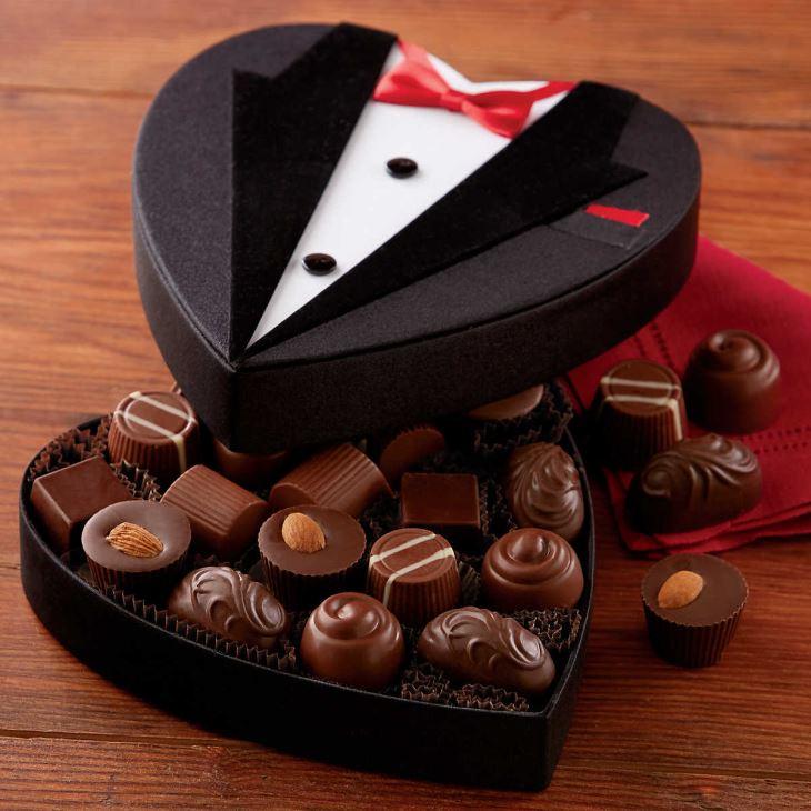هدية من الشيكولاتة للزواج