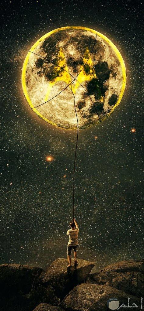 صور جذابة للقمر
