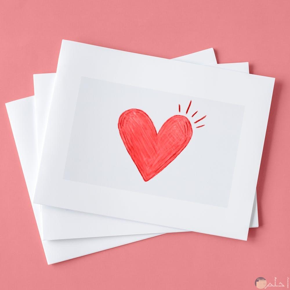صور رمزية قلب احمر يعبر عن الحب