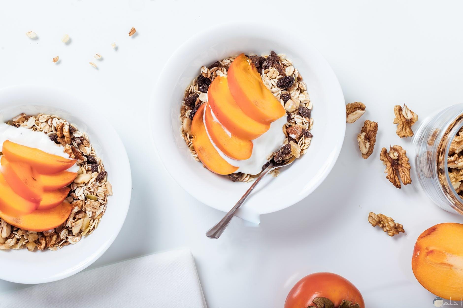 ابتكارات لفطار رائع مع المكسرات والشوفان