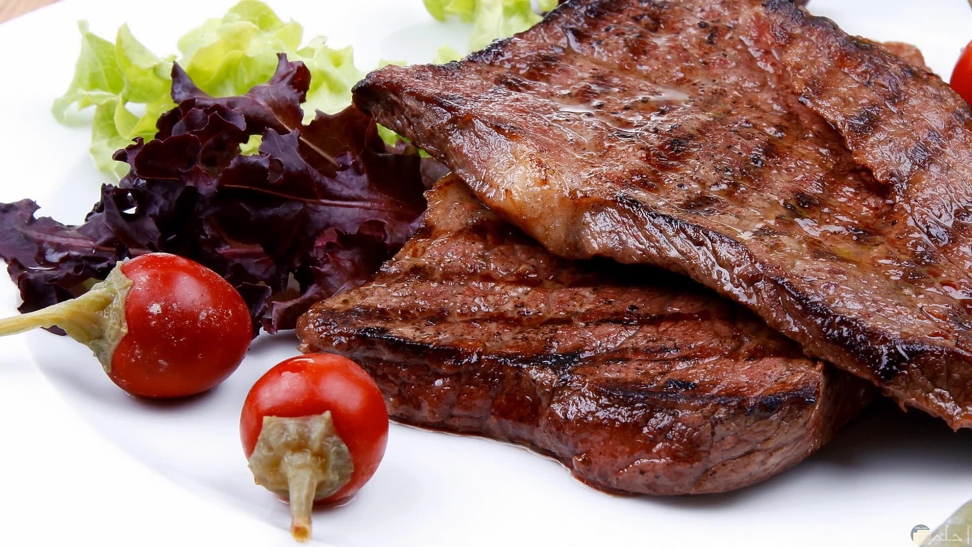 استيك اللحم المشوي