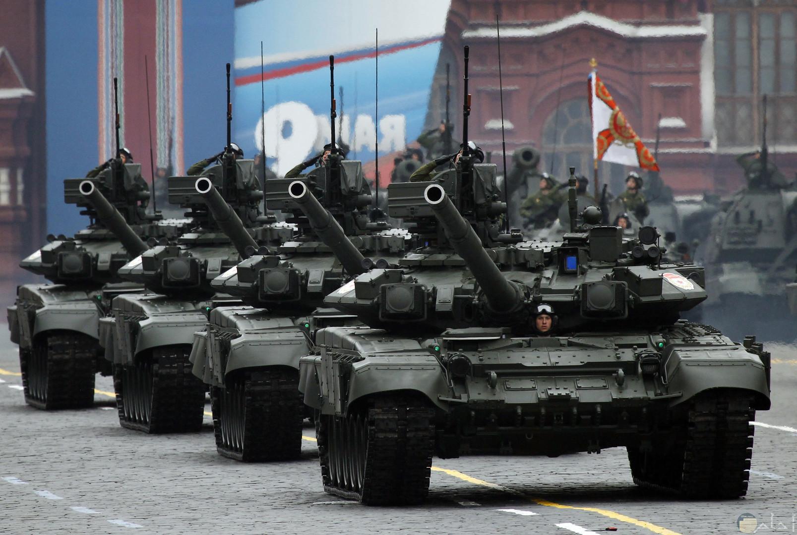 الدبابات الحديثة