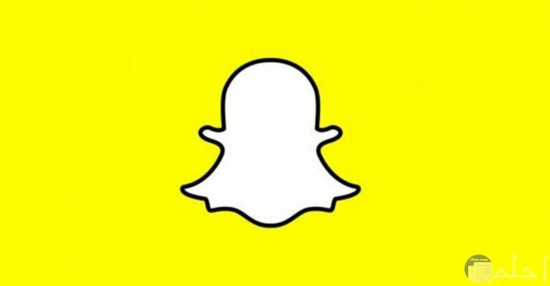 الشعار الاساسي لموقع التواصل الاجتماعي سناب شات