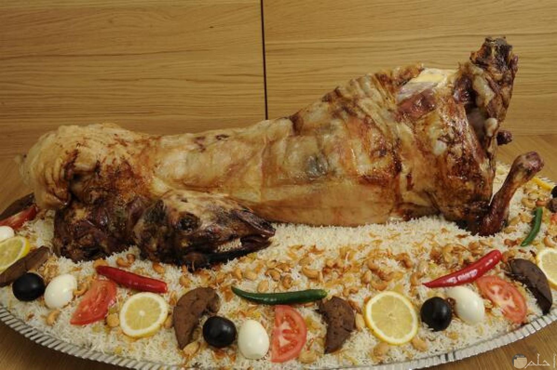 المفصح من الاكلات باللحم السعودية