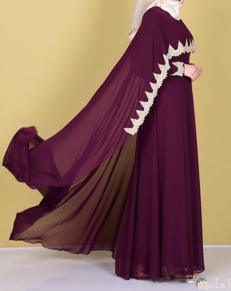 فستان للمحجبات لونة نبيتى راقى للمناسبات