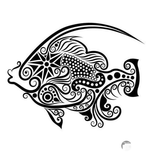 زخرفة للسمكة