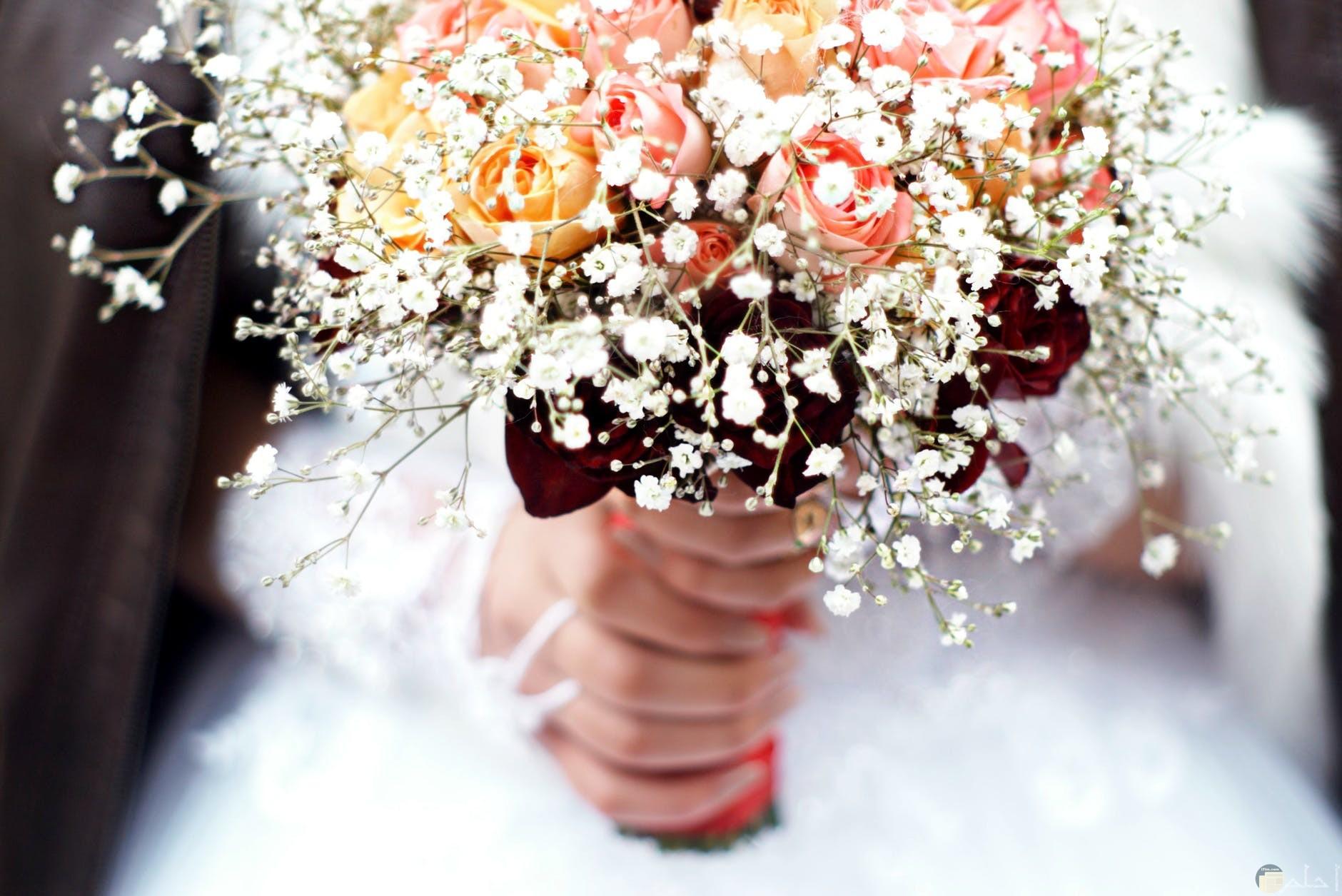سعادة المحبين في حفل زفافهم