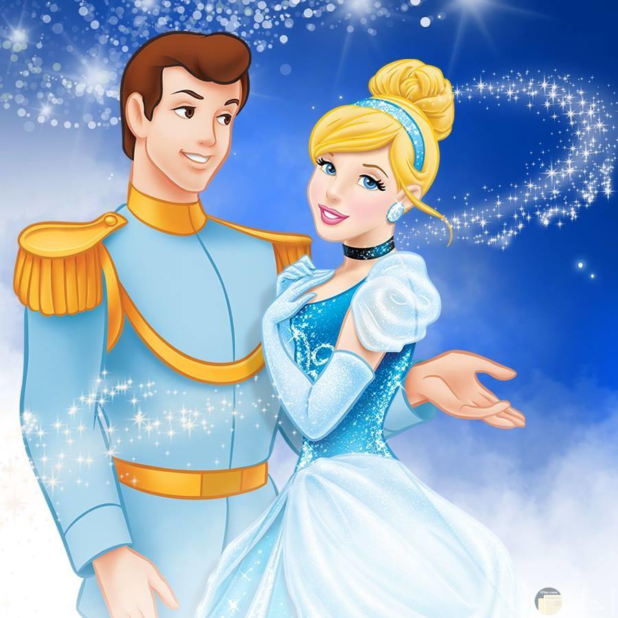 سندريلا مع الأمير