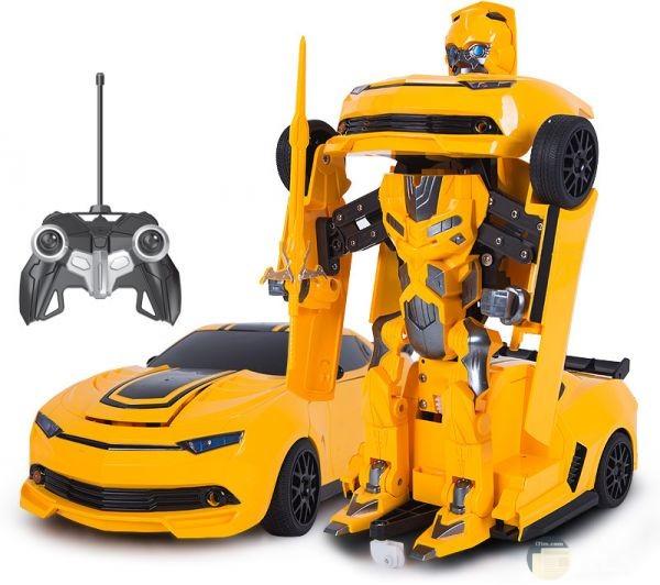 سيارة المتحولون صفراء