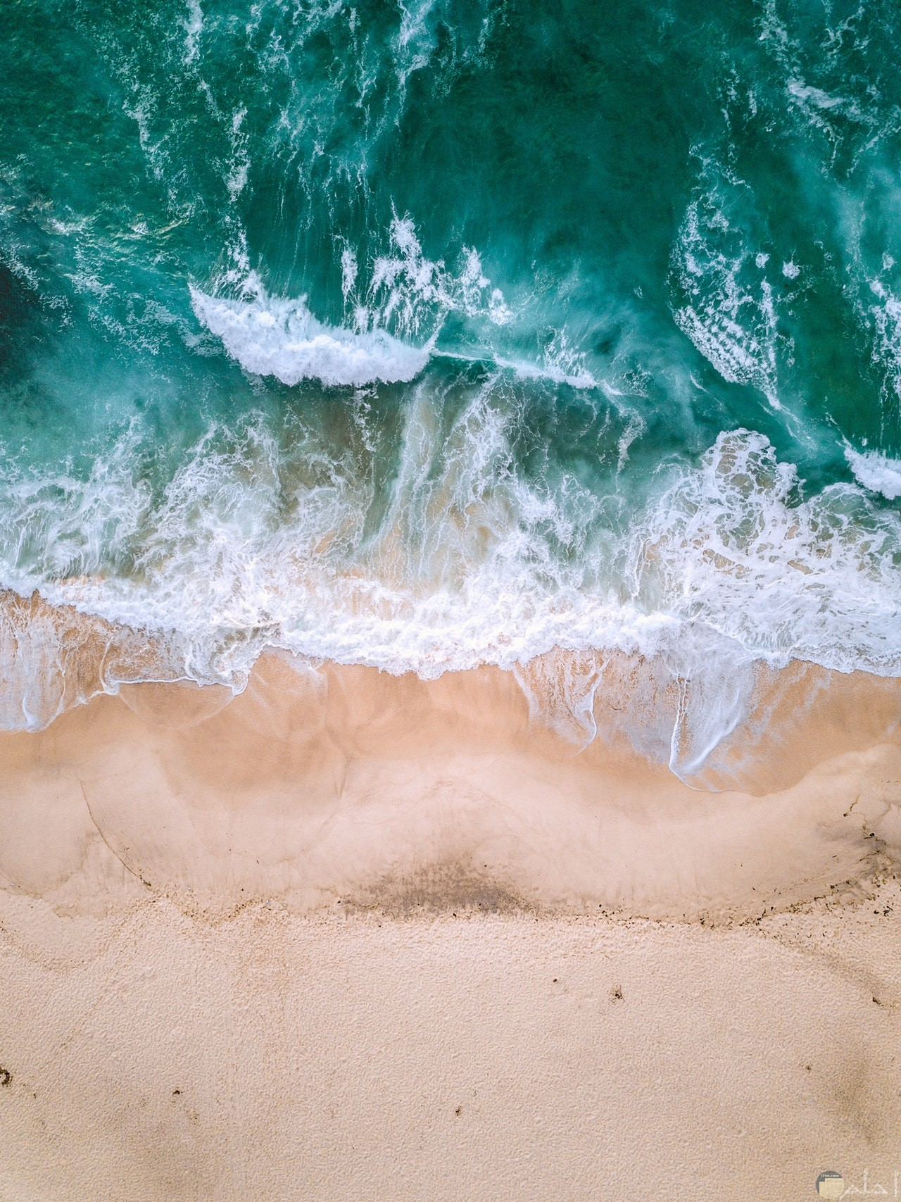صورة مميزة ورائعة للطبيعة حيث الشاطئ والبحر الجميلين