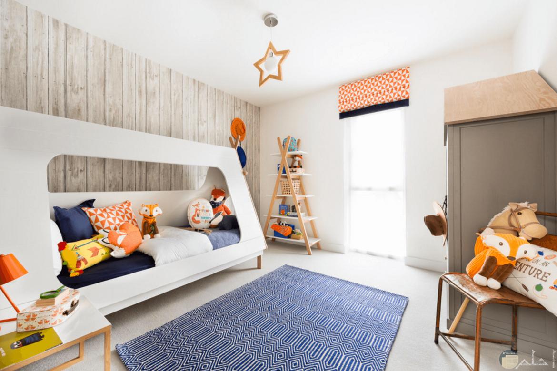 صور غرفة نوم للأطفال بديكور جميل