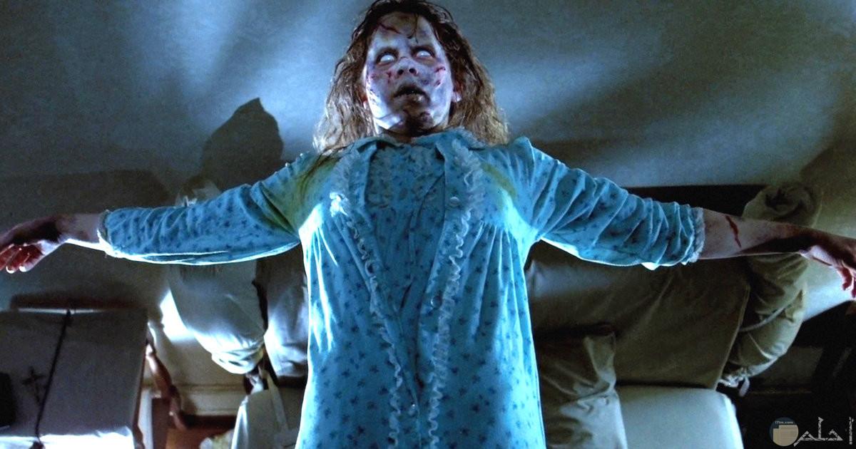 صورة لفتاة مرعبة