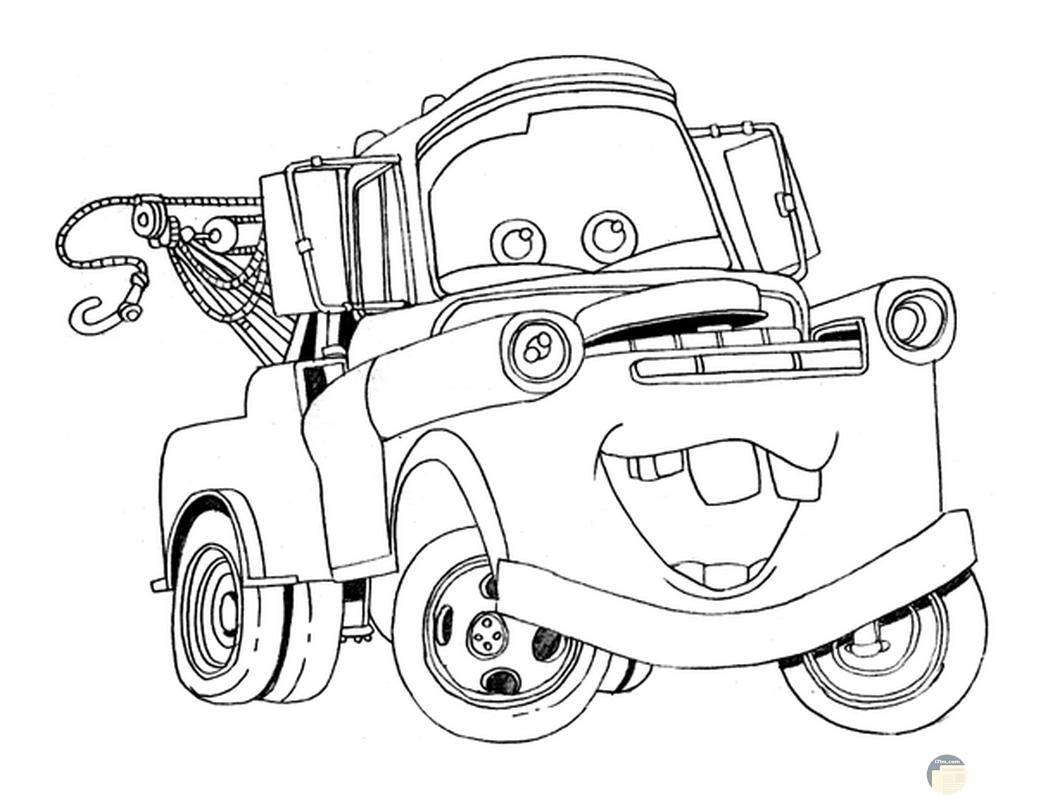 صورة جميلة لسيارة للتلوين لطفلك الصغير