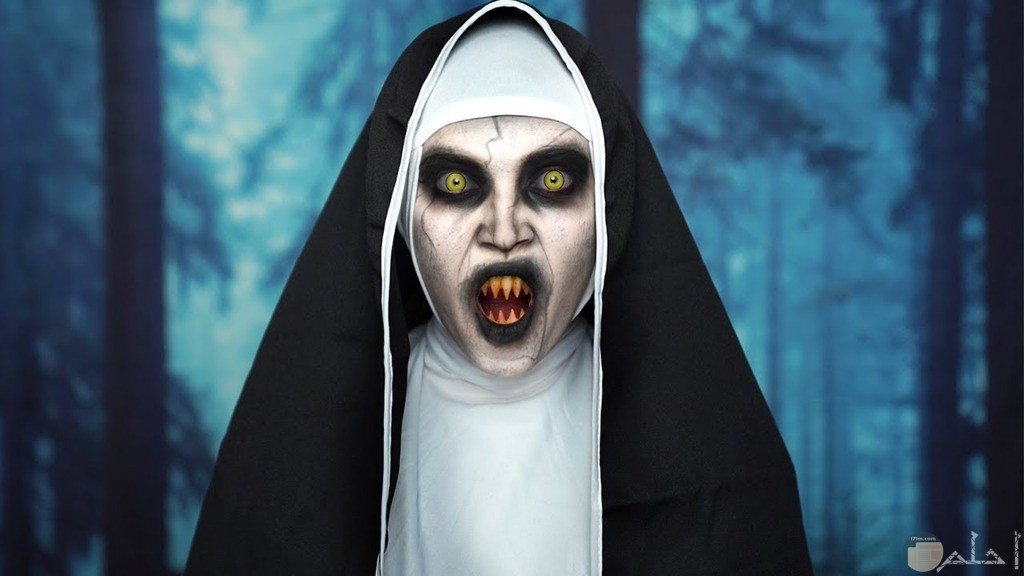 صورة مخيفة من فيلم الراهبة