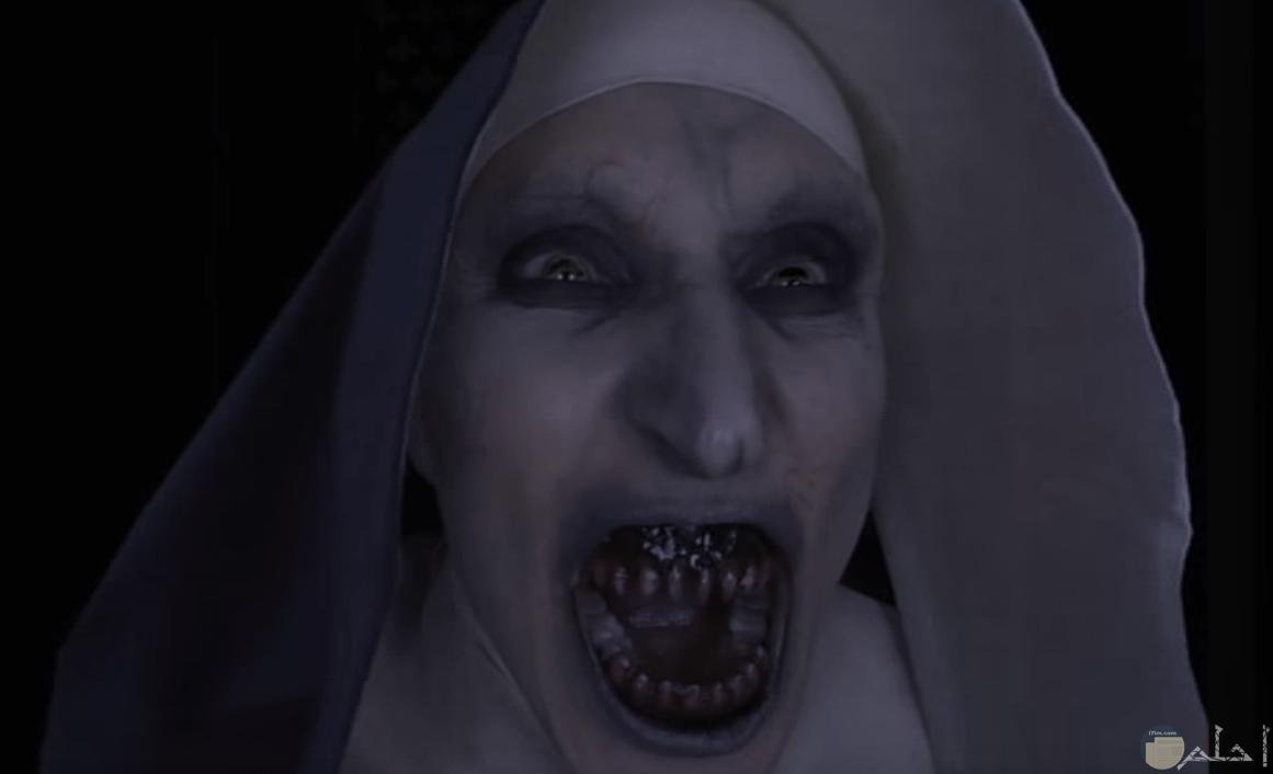 صورة مرعبة من فيلم الراهبة
