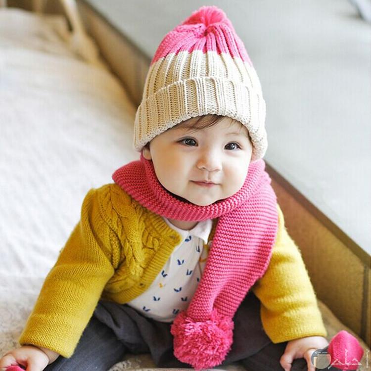 جمال الاطفال بلبس الشتاء