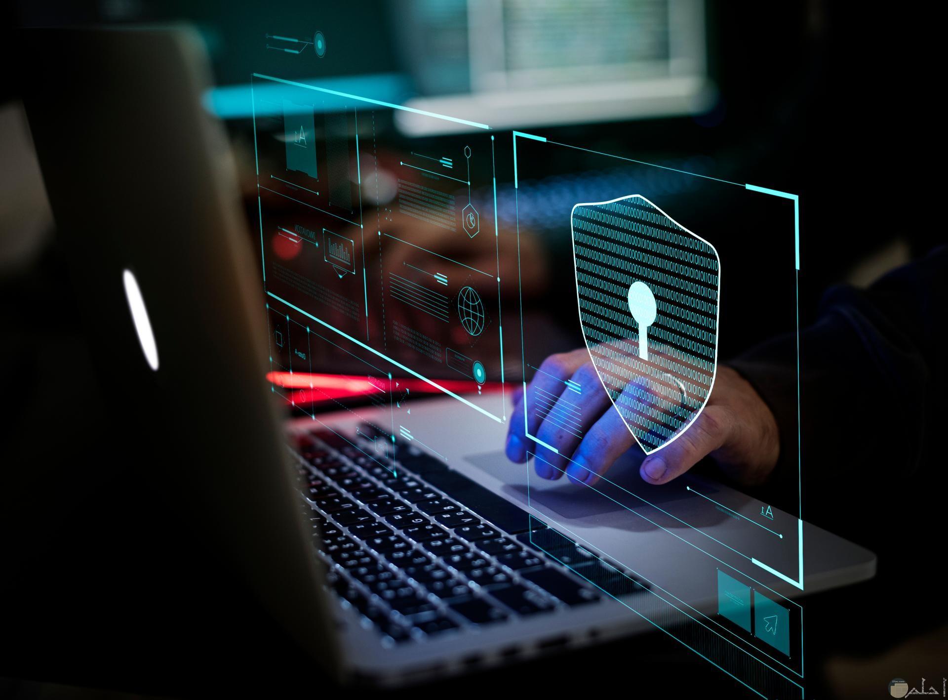 صورة لتكنولوجيا حديثة عن الأمن الرقمي وأهميته