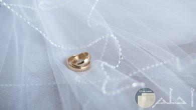 صورة جميلة ومميزة لمناسبات أفراح يوجد بها خاتم زواج