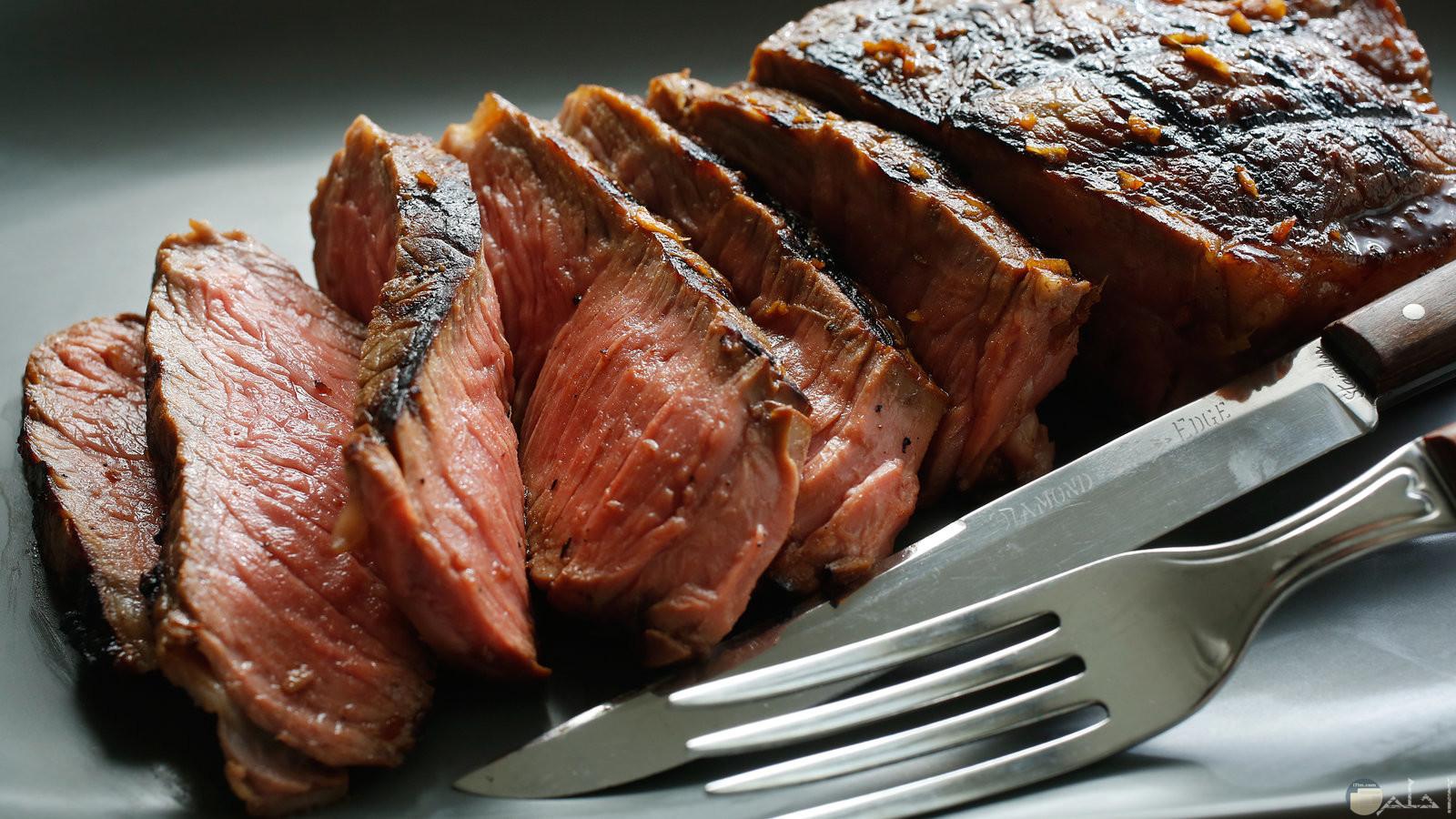 طبق اللحم الجوسى بالصوص