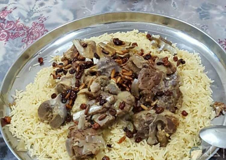كبسة لحم ورز