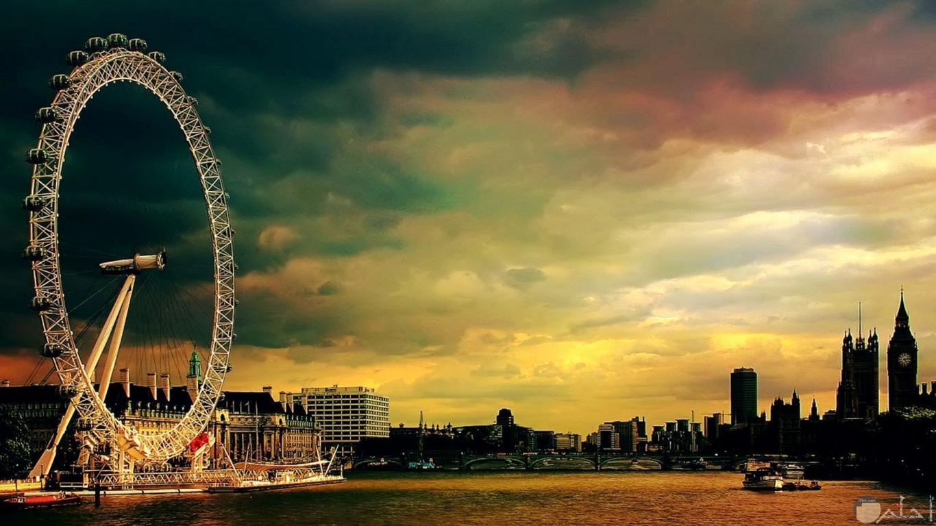 معلم سياحي رائع في لندن