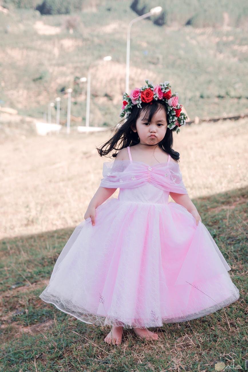 فستان روز منفوش غاية في الروعة
