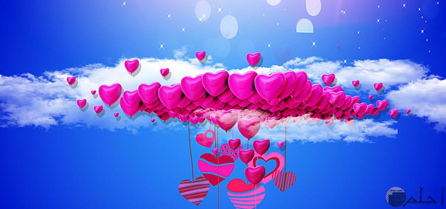 قلوب لغلاف الحب