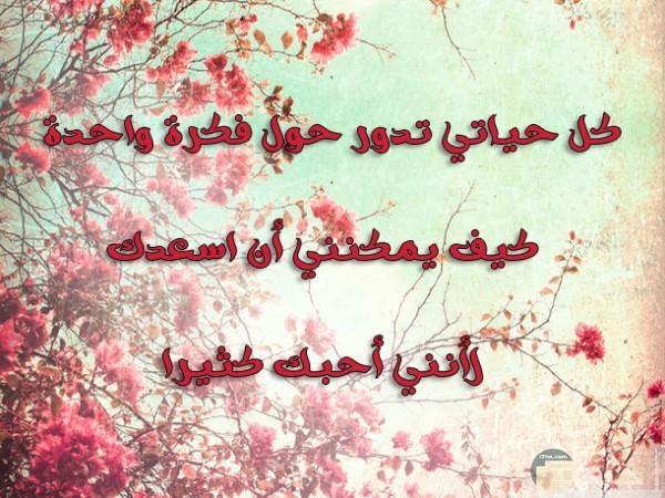 كلمات تعبر عن حب الزوجة لزوجها