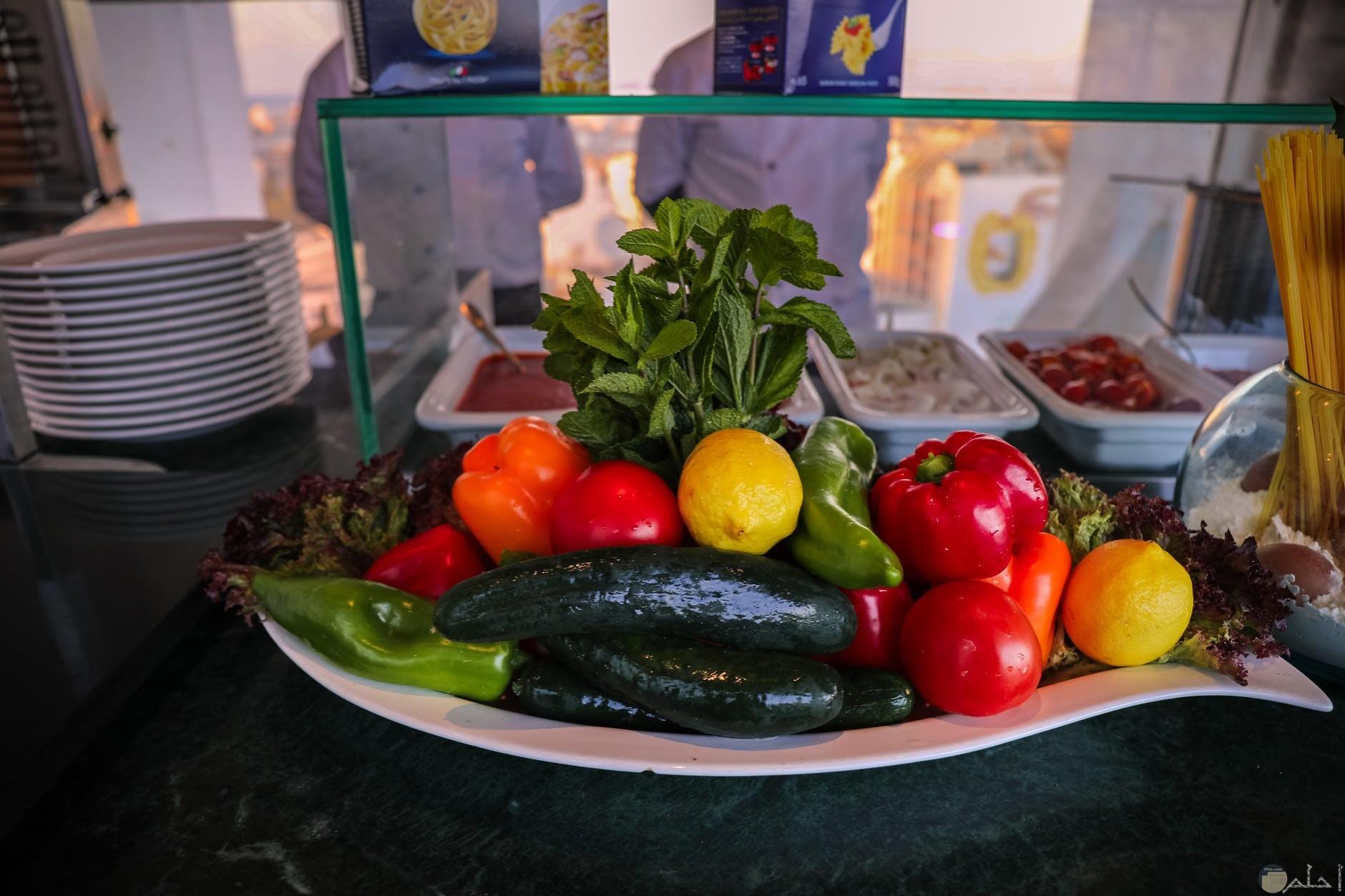 لابد من تواجد الخيار مع طبق الخضروات