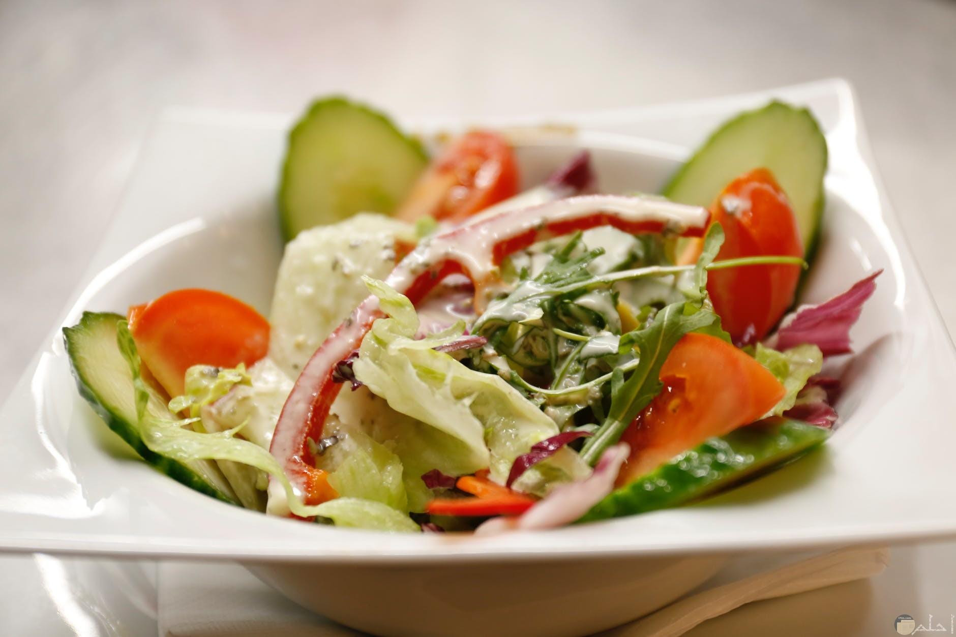 يتفنن الانسان في عمل الاكل الصحي والمفيد من الخضروات